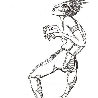 danseuse Diadème